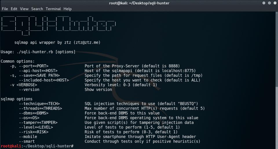 sqli-hunter v1.2.1